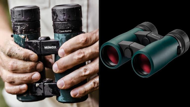 Prismáticos de caza Minox Rapid 7,5x44. @Excopesa