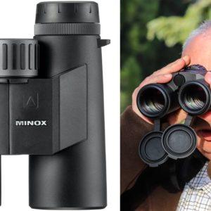 Minox X-Range 10x42, nuevo prismático de caza con telémetro