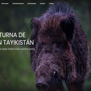 Caza nocturna de jabalíes en los montes de Tayikistán