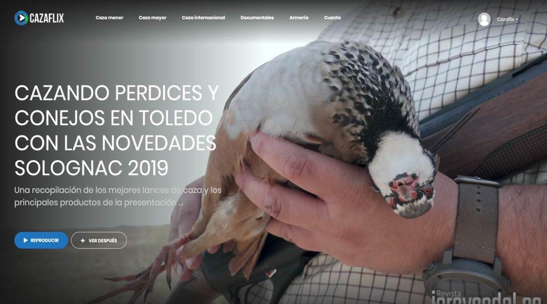Hoy, gratis en Cazaflix, cazando perdices y conejos en Toledo con las novedades Solognac 2019