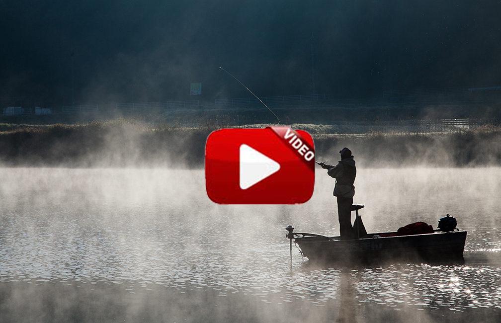 Increíble técnica para pescar black bass con un patito