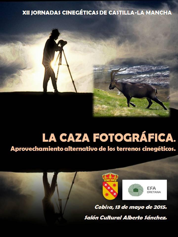 Panel vertical XII Jornadas Cinegéticas de Castilla-La  Mancha