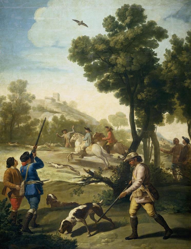 cuadros de caza