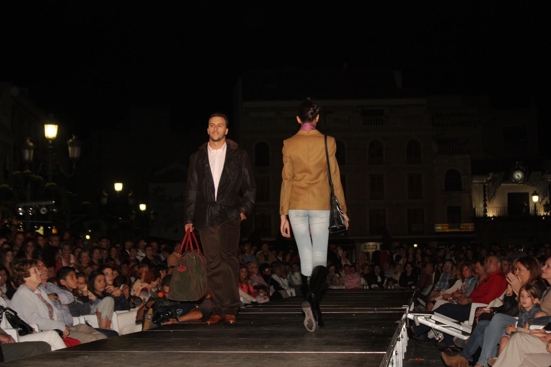 Las últimas novedades en textil y complementos para la temporada cinegética se presentan en la Plaza Mayor