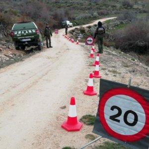Prohíben el paso a ciclistas en algunos de los caminos de la sierra madrileña