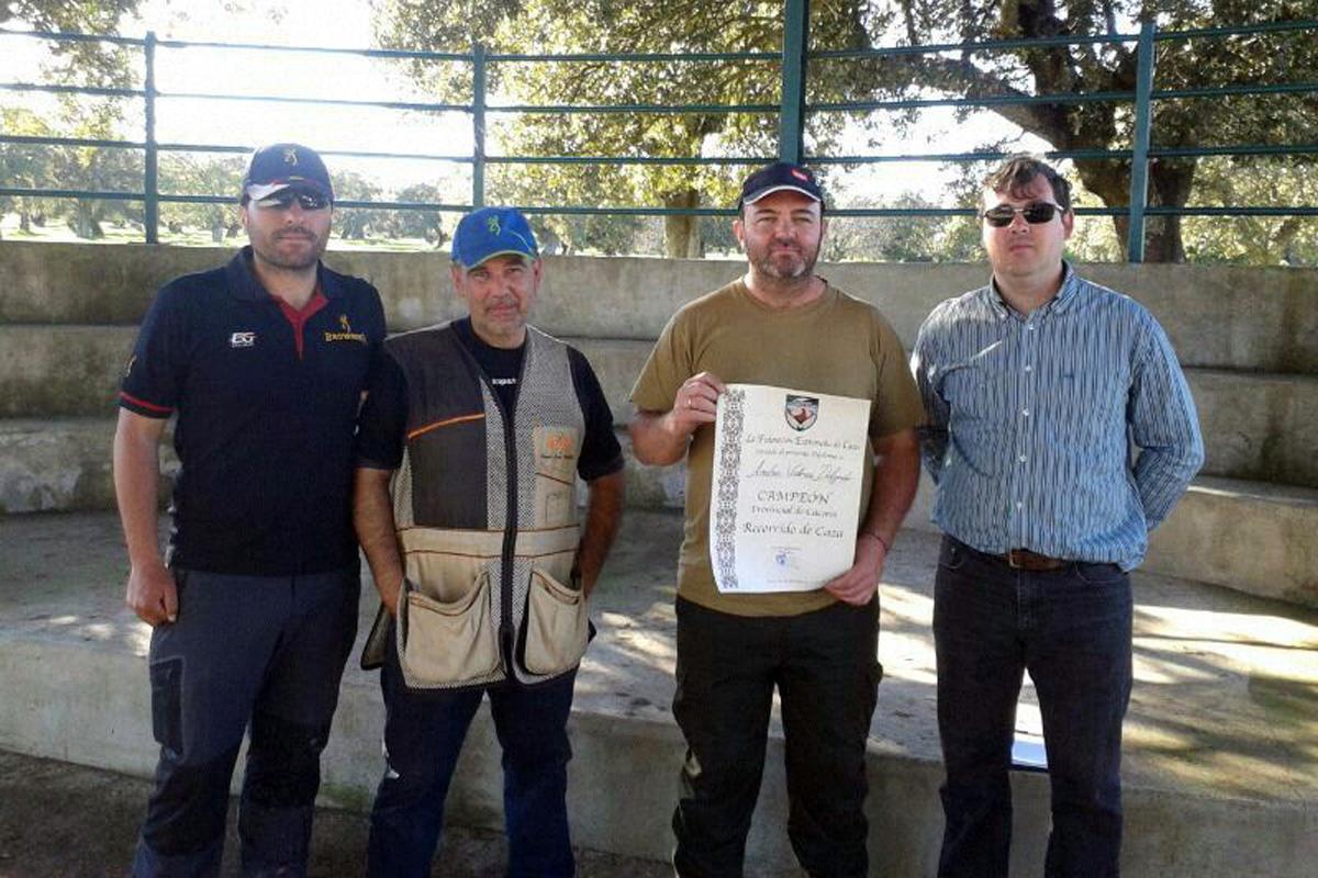 Gordillo y Varela, campeones provinciales de Recorridos de Caza