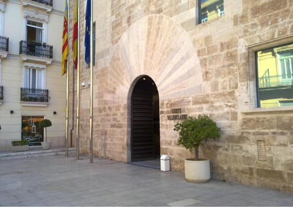 Puerta de les Corts Valencianes