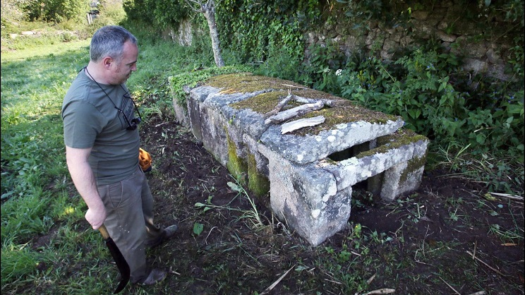 Descubren en Galicia una trampa de hace siglos para cazar zorros