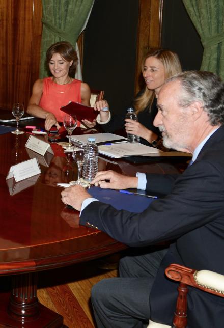 La ONC se reune con la Ministra de Agricultura