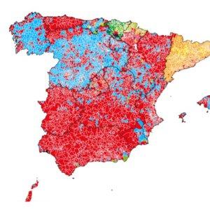 El PSOE gana en las zonas rurales donde apoyó la caza