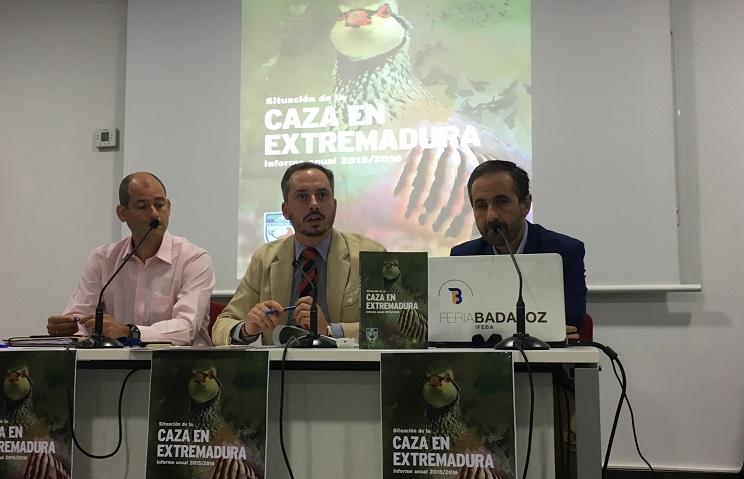 La Federación Extremeña de Caza presenta un informe sin precedentes sobre la situación del sector cinegética regional