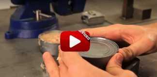 Sabes abrir una lata de conservas sin herramientas.