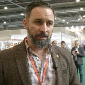 Santiago Abascal: «Quienes de verdad cuidan la naturaleza son los cazadores»