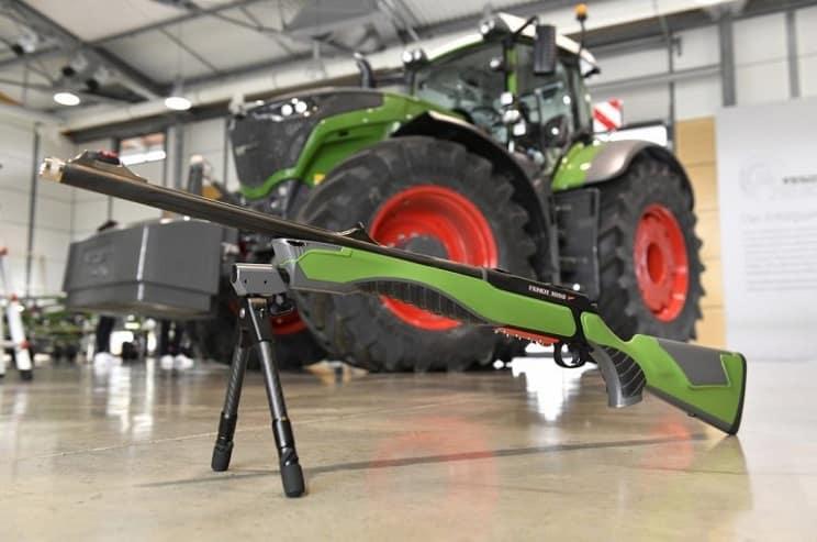 Sauer fabrica un rifle inspirado en un tractor: el S404 Fendt 1050 Vario