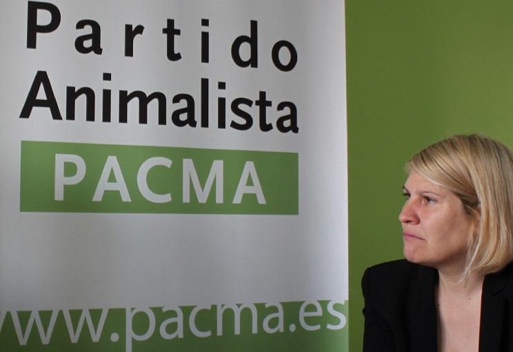 Silvia Barquero PACMA