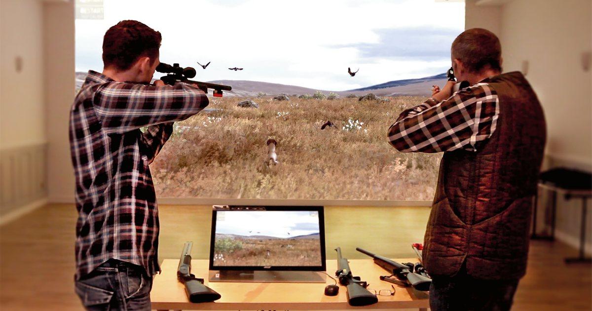 Este es el simulador que todo cazador desearía tener en su casa