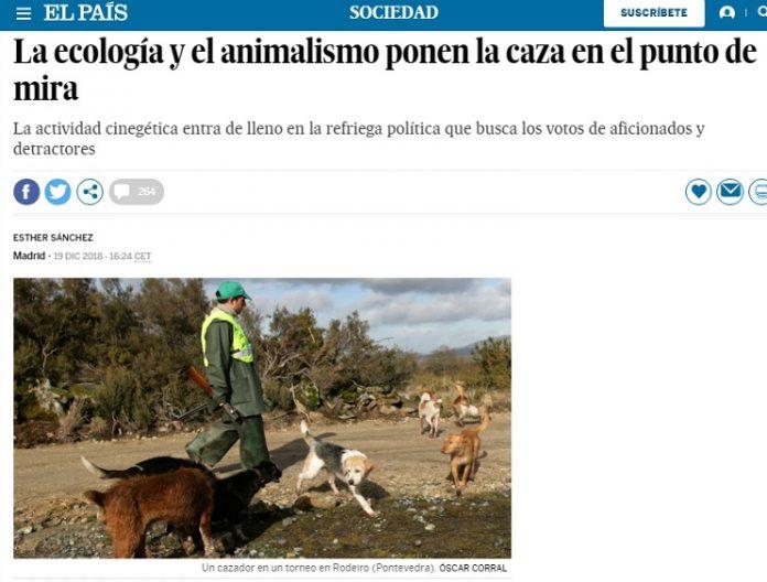 cazadores El País