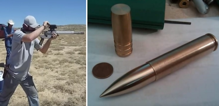 El vídeo del disparo de una bala de 1.000 grains que emociona a los más atrevidos