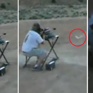 Dispara, la bala rebota a un kilómetro ¡y casi lo mata!