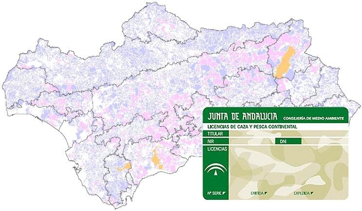 ¿Cómo obtener la licencia de caza o pesca de Andalucía por Internet?
