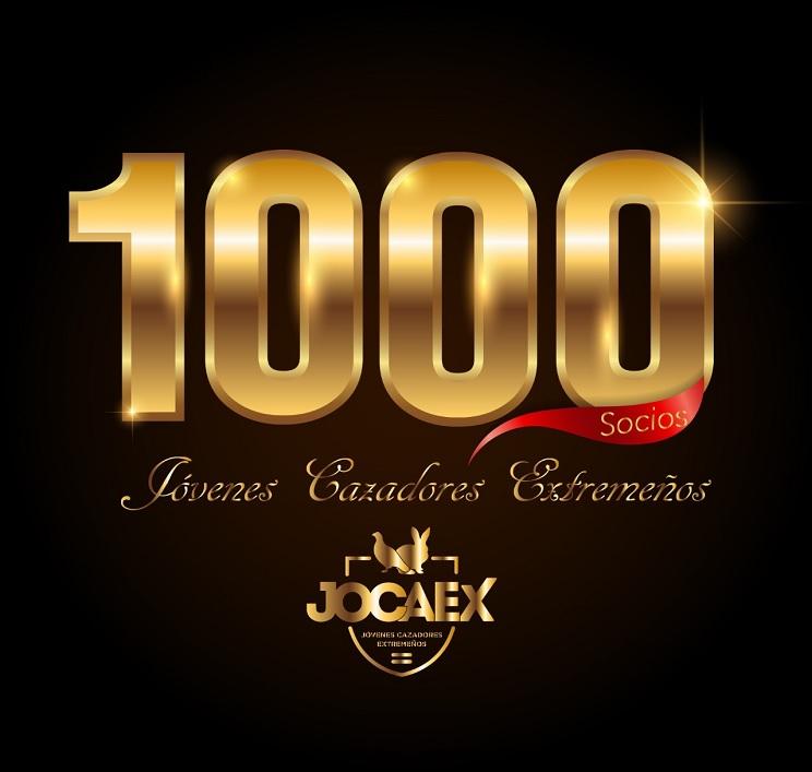 La Asociación Juvenil de cazadores JOCAEX supera los 1.000 asociados