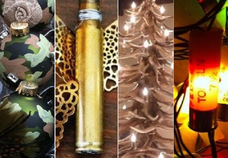 10 adornos de caza originales para decorar tu árbol de Navidad