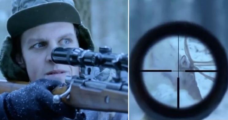 El desternillante vídeo de caza que te llega cada Nochebuena y con el que no puedes parar de reír