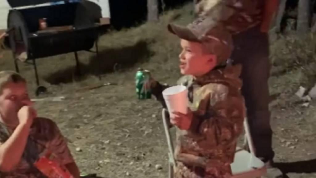 niño cazador