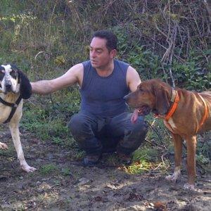 Habla el dueño de los perros muertos tras morder un jabalí: «Estoy destrozado»