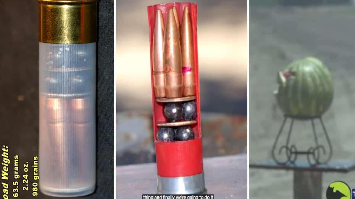 Inventan el 'cartucho del infierno', cargado con postas y balas, tras una broma en redes sociales