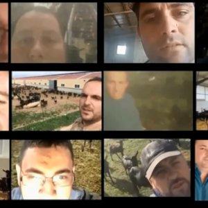 Aplaudido vídeo de los ganaderos a los españoles: «Trabajaremos para que no os falten alimentos»