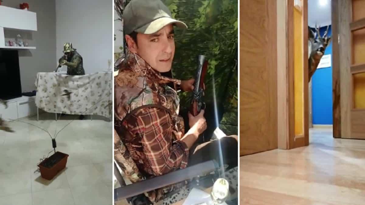 Cinco vídeos de cazadores haciendo el ganso durante la cuarentena con los que te troncharás