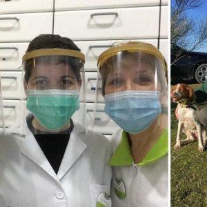 Otra cazadora con bata que lucha contra el coronavirus: «Pensar en la caza me hace seguir adelante»