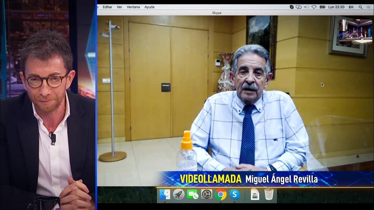 Miguel Ángel Revilla cita a sus «amigos cazadores» para explicar la crisis del coronavirus en El Hormiguero