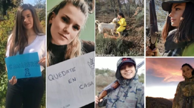 Mujeres cazadoras protagonizan este bonito vídeo para homenajear a los héroes del coronavirus