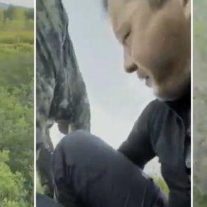 Un hombre graba a un corzo cuando este va a por él y hace lo que nadie esperaba