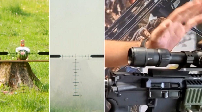 Llega a España la cámara que graba tus lances de caza a través del visor