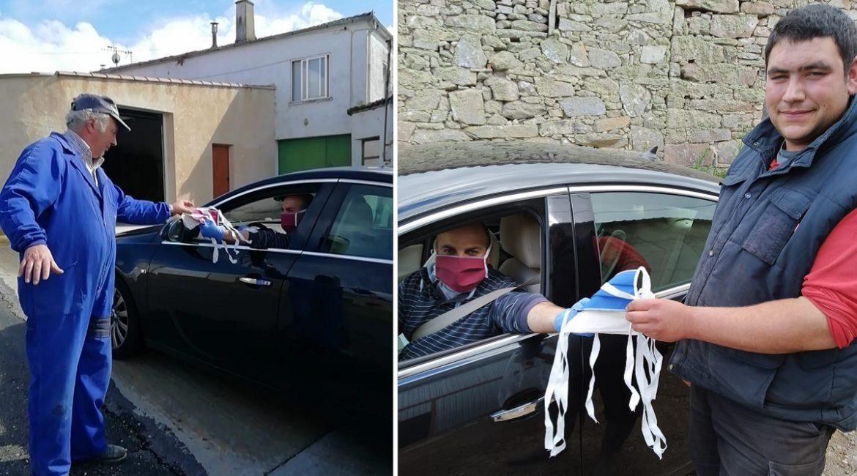 Los cazadores de un pueblo de Zamora compran mascarillas para todos sus vecinos
