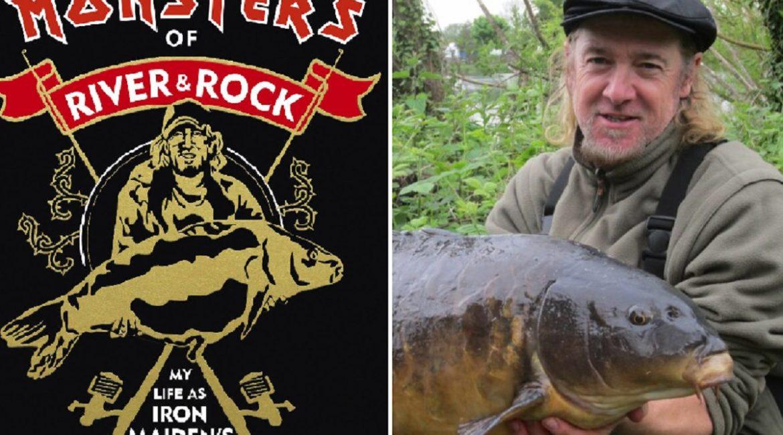 Adrian Smith, el guitarrista pescador de Iron Maiden, publica un libro de pesca