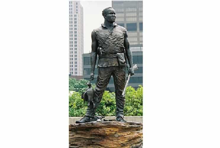 La historia del cazador esclavo al que todo el mundo admira hoy