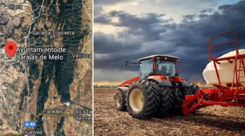 Muere un agricultor cuando trabajaba con su tractor en una finca en Cuenca