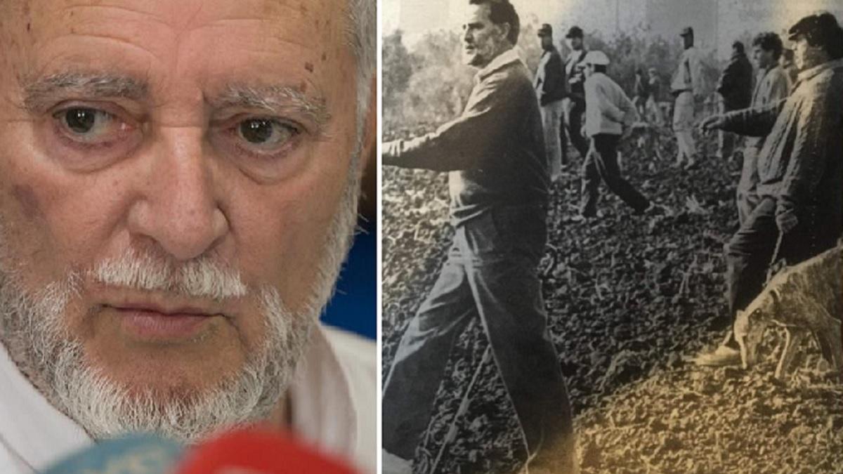 Comparte esta foto de Julio Anguita cazando para desear que se recupere: «Siempre ha defendido la caza social»