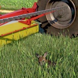 Este revolucionario invento podría salvar a las crías de corzo durante la cosecha