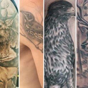 20 tatuajes de caza de los seguidores de Jara y Sedal