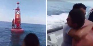 rescate pescadores