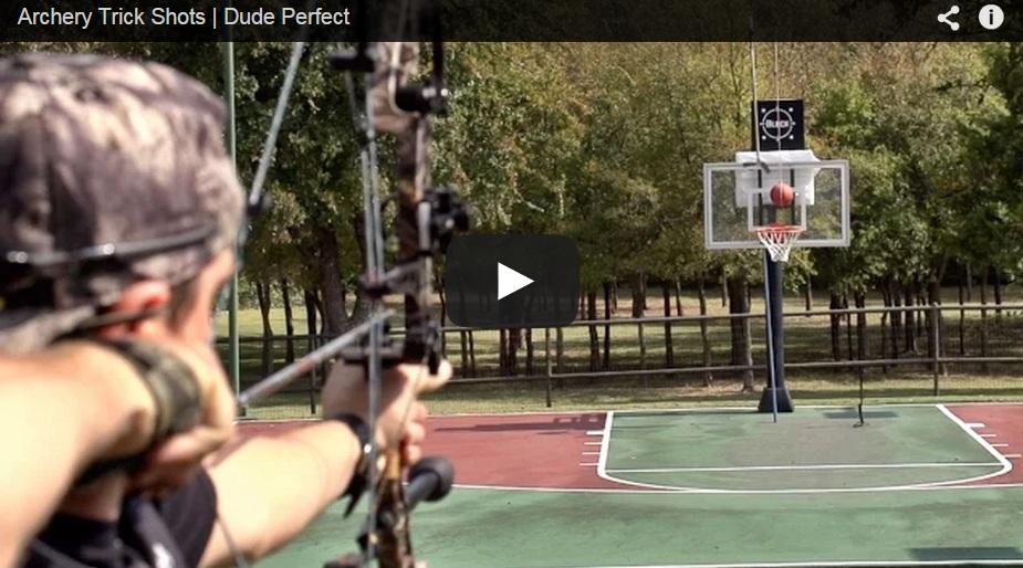 Los mejores trucos del tiro con arco