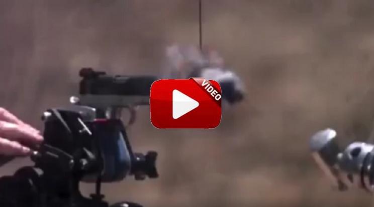 Esta catana es capaz de cortar una bala ¡recién disparada!