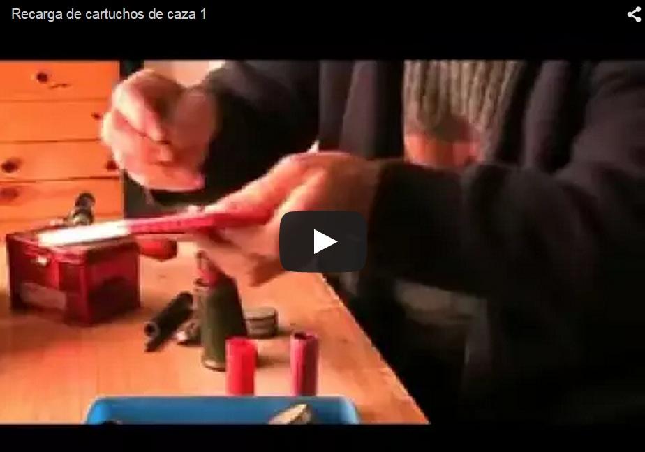 Recarga artesana de cartuchos