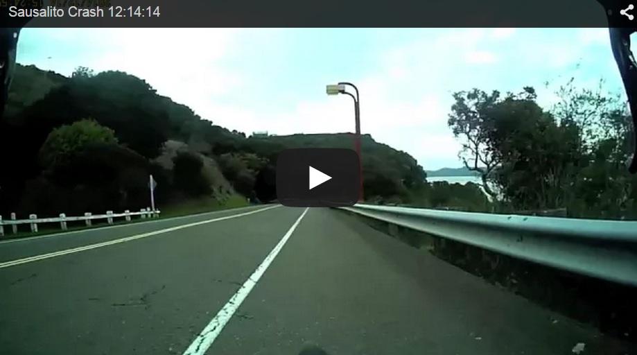Esto es lo que pasa cuando vas a toda leche con la bici y un ciervo se interpone en tu camino…