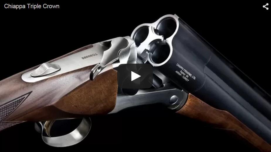 Una escopeta… ¡con tres cañones!